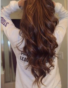 waiting for my hair to grow long again so i can do my waves like this