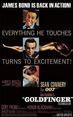 James Bond 007 : Goldfinger - Maxi Poster 61cm x 91.5cm new and sealed