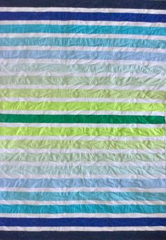 "Reflections, Jelly Roll Friendly, 40"" x 58"" 