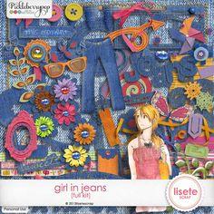 Girl in Jeans Kit
