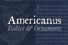 Americanus Family by Aerotype on @creativemarket