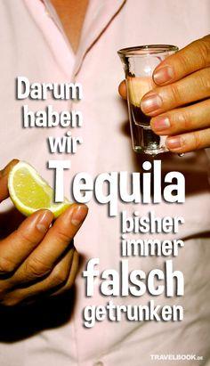 So trinken Mexikaner ihren Tequila wirklich!