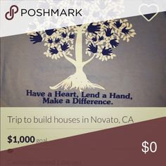 Hey guys! Check out my gofundme in my about me Hey guys! My friend and I are planning on going on a trip to Novato, California from New York with our local Habitat for Humanity organization, but we need a little help. We'd love to be able to go help build over 10 single family homes and help out the community. Any donation counts and is much appreciated!!!!! If you can't donate, please reblog and share this, thank you so much!! http://www.gofundme.com/trip-to-build-houses-in-novato-ca Other
