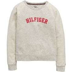Tommy Hilfiger Lounge Sweat Top (970 MXN) ❤ liked on Polyvore featuring tops, hoodies, sweatshirts, tommy hilfiger top, tommy hilfiger sweatshirt and tommy hilfiger