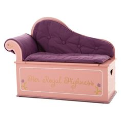 Levels of Discovery Princess Fainting Couch with Storage | from hayneedle.com