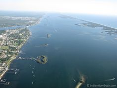 A look north on the Indian River Lagoon