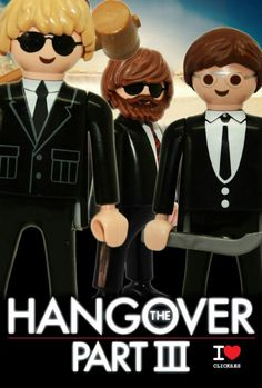Movie Poster Series: Hangover Part III
