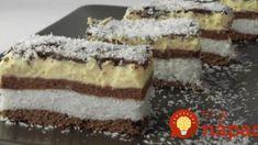 Kókuszhercegnő, a világ legfinomabb süteménye, amit 30 perc alatt elkészíthetsz! Hungarian Desserts, Romanian Desserts, Romanian Food, Hungarian Recipes, King Torta, Sweet Cookies, Sweet Treats, Cookie Recipes, Dessert Recipes