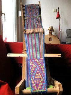 card weaving - Brettchenweben
