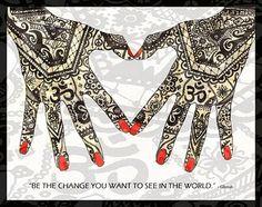 Peace Posters nice idea