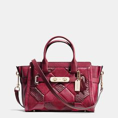 COACH - COACH SWAGGER 27 IN PATCHWORK LEATHER | International HKD 6,700