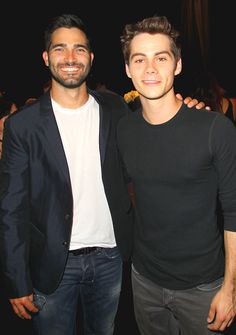 Teen wolf boys, my 2 Fav's and my absolute favorite show!