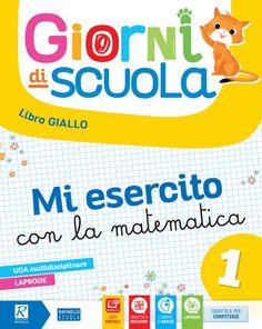 Prima fila 1 - Discipline by Gruppo Editoriale Raffaello - issuu Book Cover Design, Book Design, First Grade, Kids Learning, Author, School, Books, Maths, Amanda