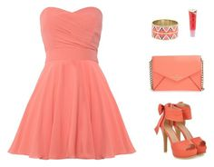 """""""Untitled #627"""" by patrisha175 ❤ liked on Polyvore featuring TFNC, JY Shoes, Vince Camuto, Kate Spade and Barry M"""
