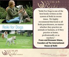 Good afternoon animal lovers! If you haven't already, check out my book: Reiki for Dogs! It's easy and fun to learn.