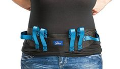 Secure Transfer Gait Belt with Handles and Quick Release Buckle - Elderly Patient Walking Ambulation Assist Mobility Aid x Blue Handle (Quick Release Buckle)) Best Leather Belt, Leather Belts, Back Injury, Mobility Aids, Look Good Feel Good, Walking, Stuff To Buy, Shopping, Plastic