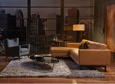 American Leather : Parker Sofa