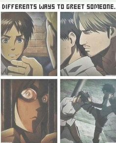 Shingeki no Kyojin (Attack on Titan).... Okay, so I finished this anime just yesterday and i am having a horrible time getting over it, unlike most anime I watch I get over in somewhat of a day but I can say this about this anime, it's my all time favorite anime, I never choose an anime to which I thought was my favorite but this one is my all time, over all favorite. I just wanted to get that off my chest so yeah... Um