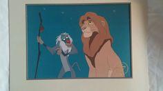 Disney's The Lion King Exclusive Commemorative Lithograph 1995 Simba #Disney