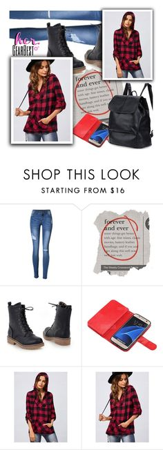 """""""Her Gear Best"""" by ansev ❤ liked on Polyvore featuring Kate Spade, Samsung and lkid"""
