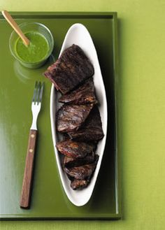 This is great in the summer - I serve it fajita-style.  You could almost eat the sauce on it's own.  :)