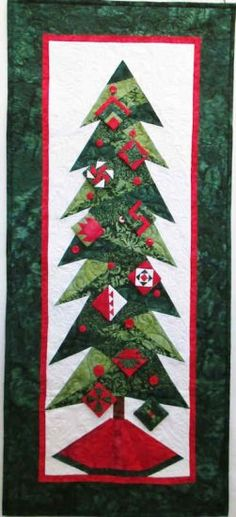 Another Version Of Cindi Edgerton S Trim The Tree Pattern