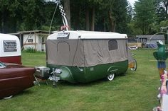 Does Camping World Allow Dogs Vintage Campers Trailers, Camper Trailers, Camping World, Tent Camping, Rent A Tent, Camping In Washington State, Tin Can Tourist, Trailer Tent, Punk Shoes