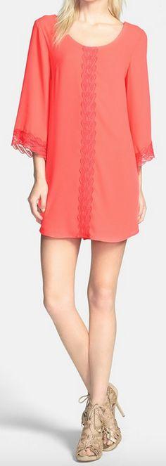 lace trim shift dress http://rstyle.me/n/v9f8npdpe