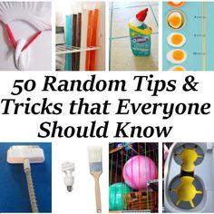 50 Random Tips Everyone Should Know