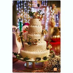 A #brautiful #wedding #cake on your lovely day. What does weddong cake symbolize? Comments welcome