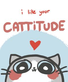 Bengal Cats Care spiltsoymilk: Its Valentineees!Awesome maddationasked if I could draw a va - Funny Cat Quotes Cat Puns, Cat Memes, Crazy Cat Lady, Crazy Cats, Cute Cats, Funny Cats, Gatos Cats, All About Cats, Cat Quotes
