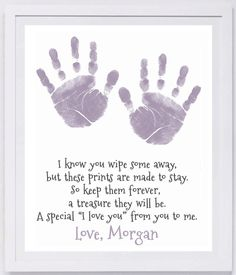 Mothers Day Crafts For Kids Discover Prints Are Meant to Stay Handprint Wall Art Daycare Crafts, Baby Crafts, Toddler Crafts, Preschool Crafts, Newborn Crafts, Daycare Rooms, Reindeer Handprint, Handprint Art, Mothers Day Crafts For Kids