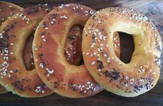 I dag bakte jeg noe ekstra godt! Keto Bagels, Norwegian Food, Lchf, Doughnut, Detox, Low Carb, Baking, Curiosity, Diabetes