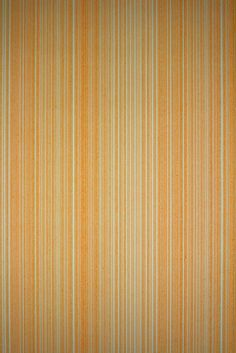 Orange Striped Wallpaper from the 1970s