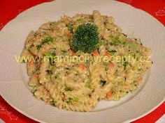Pochoutkové těstoviny Pasta Recipes, Guacamole, Risotto, Healthy Snacks, Toast, Vegetarian, Lunch, Ethnic Recipes, Food