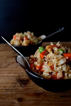 Chicken and rice with all the goodness of ginger and scallion.