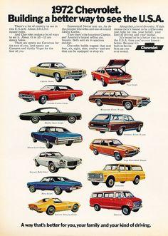 1971 Chevrolet Chevy Impala Coupe - Original Car Advertisement Print Ad J207