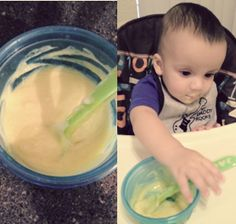 Try this Peaches & Cream Baby Food Recipe! For babies 8 months+
