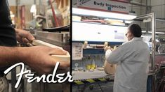 A Strat Is Born, A Fascinating Timelapse Showing Every Step Involved in Creating a Fender Stratocaster