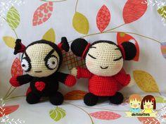 Pucca & Garu Amigurumi Dolls Patterns in by AmigurumiByAhmaymet, $5.99