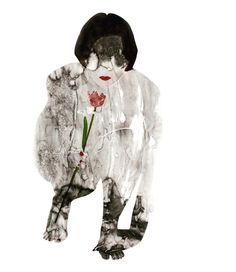 Willful Blindness -LOVE series. #willfulblindness #love #watercolour #akvarell #installation #paper #girl #flower #tulip #contemporary #art #contemporaryartist #instaartist #onepeace #hungarianartist