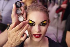 Maybelline New York New York Fashion, Maybelline, Betsey Johnson, Halloween Face Makeup, Backstage