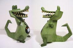 "SpankyStokes.com   Vinyl Toys, Art, Culture, & Everything Inbetween: ""Croc X"" from Amanda Visell"