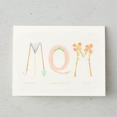 In the Garden Mother's Day Card in House+Home HOME DÉCOR Desk+Craft Cards+Wrapping at Terrain