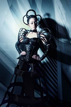 Corsage Ophelia, crinoline  Cosmic Couture