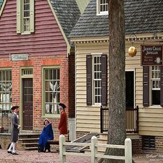 Colonial Williamsburg was one of my favorite places to visit with my parents. Once a year they had a conference in Williamsburg and we'd spend a day there pretending to live in a different time. I loved touring the old houses and native american camps. I even had a colonial themed birthday party.