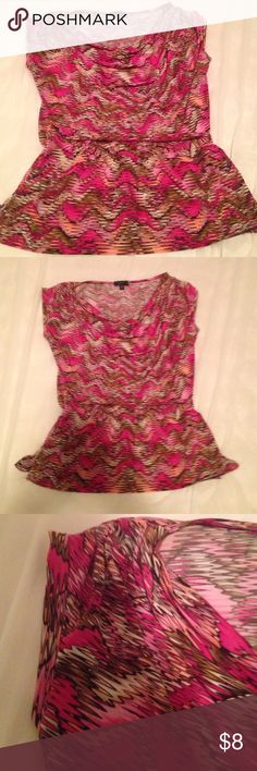 Top Top in excellent condition.  Wash and wear no ironing required Lynn Tops Blouses