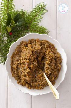 przepis-na-kapuste-z-grzybami-do-pierogow-przepis_02_1 Polish Recipes, Polish Food, Nasu, Vegan Gluten Free, Risotto, Vegan Recipes, Keto, Dom, Pierogi