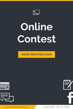 Find out how to run an online contest that will drive traffic to your website. Online Games, Online Art, Contest Games, Online Contest, Online Sweepstakes, Social Media, Website, Ideas, Social Networks