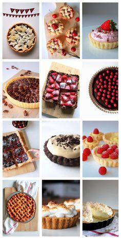 12 Holiday Pies/Tarts